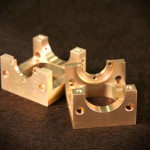 Machined Part Brass